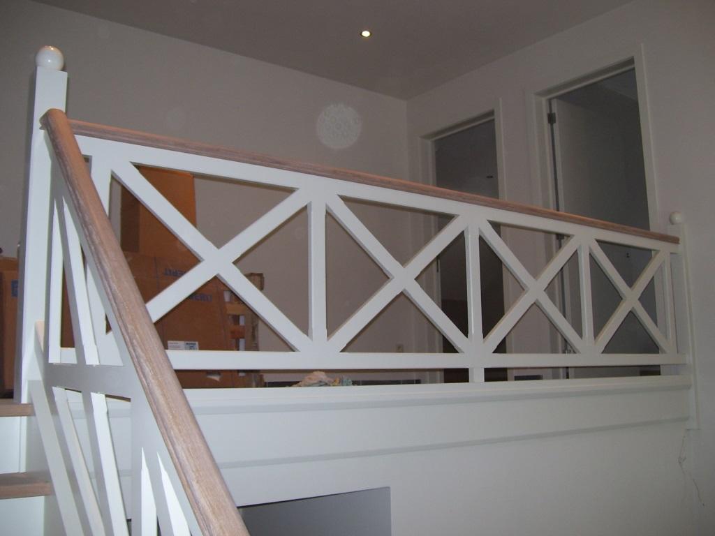 Patrick lenaerts specialist in het bekleden van betonnen for Balustrade trap